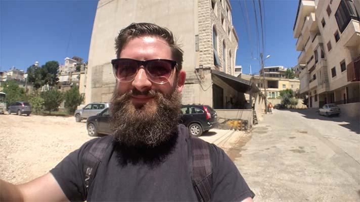 Cris Rogers in Lebanon.