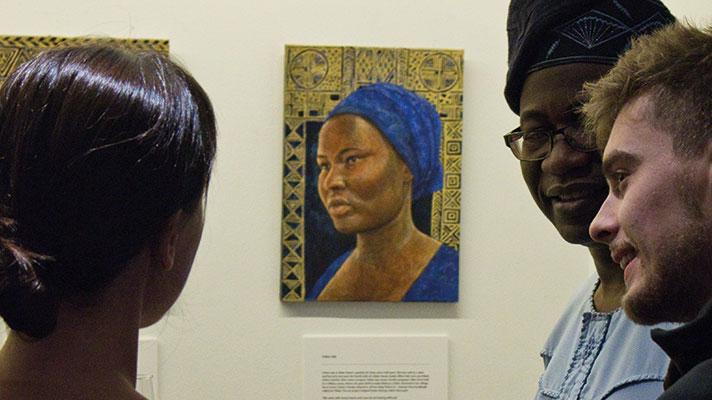 Hannah's portrait of Esther.